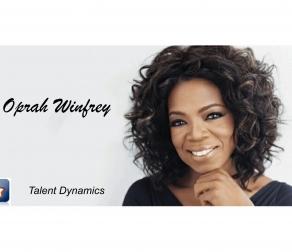 Profil Star na przykładzie Oprah Winfrey.